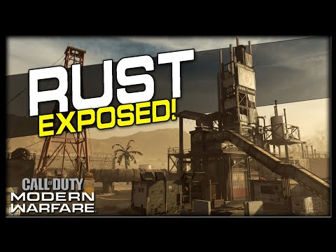 Rust Lines Of Sight, Jump Spots And Spawns | (Modern Warfare Maps Exposed)