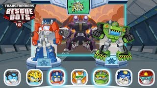 Transformers Rescue Bots: Disaster Dash Hero Run #178   Chase down MORBOTS!