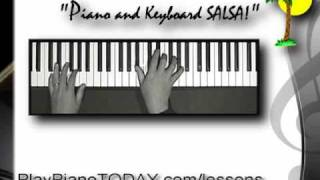 Piano Lessons - 'Salsa! High energy piano lessons' Ch. 1