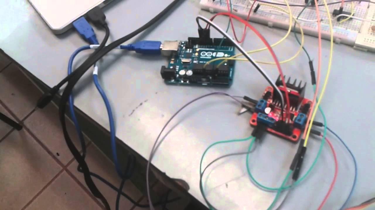 Control de Velocidad Motor CA - Arduino