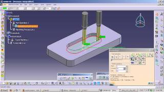 CATIA V5 - How to Generate G-codes in NC mode