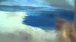 Acrylic Paint Water - How To Paint Water - with Acrylic