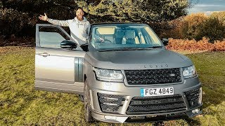 THEY DELIVERED ME A CUSTOMISED RANGE ROVER