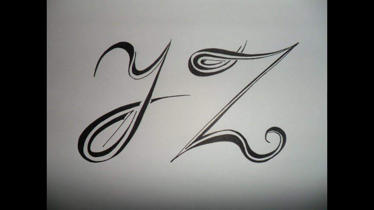 Letras Y , Z tribales. Bases sencillas para crear y ...