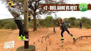 SAFARI GO S2 avec Carole Rousseau sur Gulli ! E2 #5 : Le Duel Jaune vs Vert