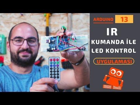 Arduino IR Kumanda Ile LED Kontrolü