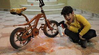 الياس وزياد لونو دراجاتهم !