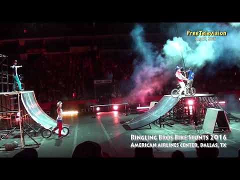 Ringling Bros Bike Stunts 2016