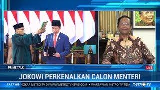 Jokowi Perkenalkan Calon Menteri