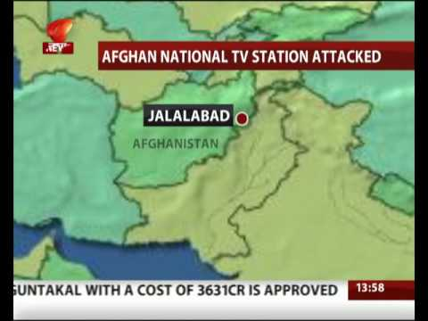 National Radio Television in Afghanistan (RTA) TV Station attacked in Jalalabad