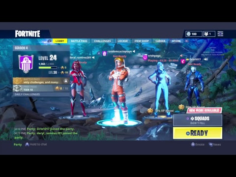 PLAYING WITH CELEBS?!?!! /Fortnite Gameplay