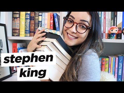 TODOS OS LIVROS QUE LI DO STEPHEN KING | Ju Cirqueira