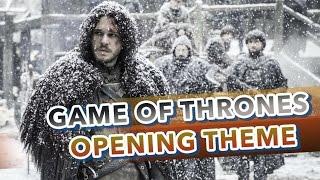 [NanoKarrin]  Game of Thrones  - Opening theme『POLISH』