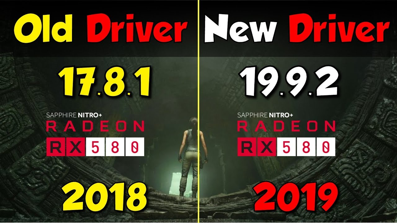 Rx 580 Old Vs New Drivers Huge Performance Gains Youtube