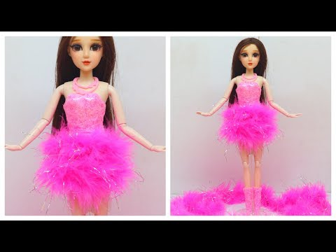 DOLL MAKEOVER-  BARBIE STYLE HACKS AND CRAFTS ~ DIY Barbie Doll Hairstyles, Clothes, Shoes, Bag