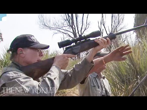 The Video of the N.R.A.'s Leader and His Wife Shooting Elephants   The New Yorker