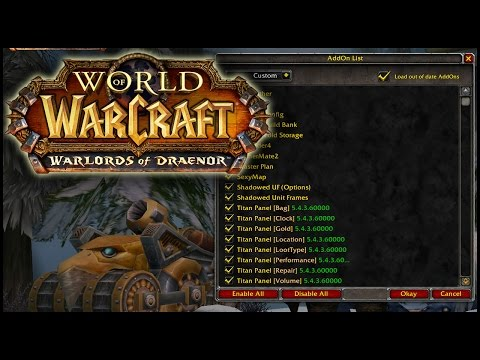 World of Warcraft #6 - Custom UI Tutorial