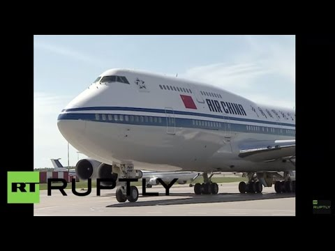 LIVE: Chinese President Xi Jinping arrives in Ufa