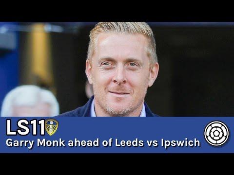 LS11 | Garry Monk ahead of LUFC vs Ipswich