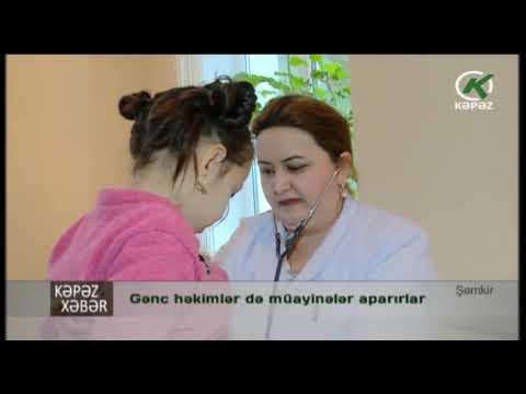Gənc həkimlər də müayinələr aparır - Kəpəz TV