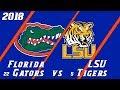 18.6 Florida Gators vs LSU Condensed