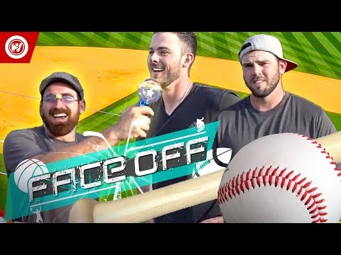 Thumbnail: Dude Perfect VS. Kris Bryant & Mike Moustakas | Home Run Derby FACEOFF