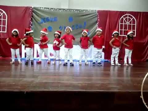natal das chiquititas apresentação do infantil 2 3 youtube