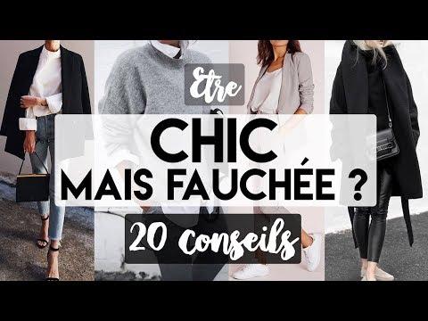 20 CONSEILS POUR ETRE CHIC