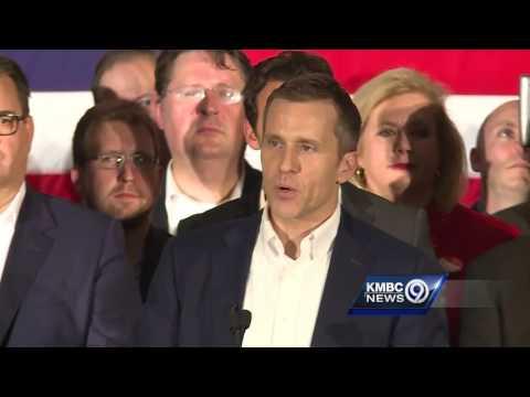 Republican Eric Greitens celebrates win in Missouri governor