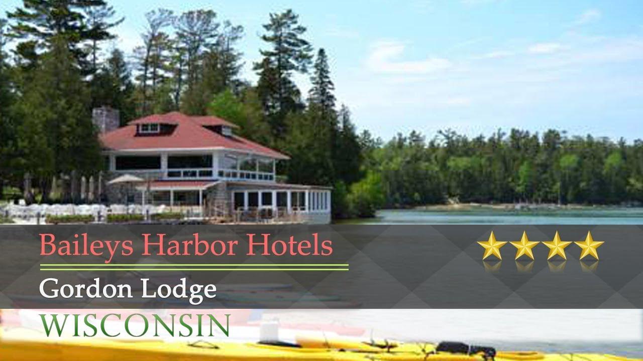 Gordon Lodge Baileys Harbor Hotels Wisconsin