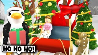 NEW BLOXBURG CHRISTMAS UPDATE! (Roblox Bloxburg) Roblox Roleplay