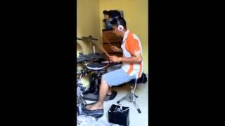 """Drum Cover Topeng """"Peter Pan"""" Using EZ DRUM 2"""