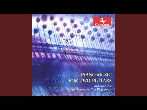2 Arabesques: No. 1 in E Major (arr. K. Murray for 2 guitars)