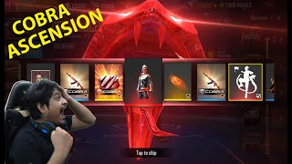 New Cobra Ascension 5 Spin Event | New Cobra Emote Bundle Guns Free | Garena Free Fire