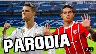 Canción Real Madrid VS Bayern Munich (Parodia Maluma - El Préstamo) 2-2 FRAN MG RESUBIDO