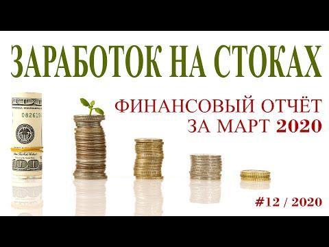 Финансовый отчёт за март 2020. Заработок на стоках. Загружено: Фото 2639/ видео 148 видео. Фотостоки