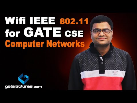 Wifi IEEE 802.11 for GATE CSE | Digital Data Communications Networks | Computer Networks lecture