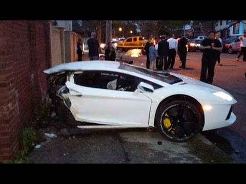 Half Million Dollar Lamborghini Aventador Destroyed Youtube