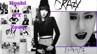 4MINUTE - CRAZY (COVER) Ft Zozo