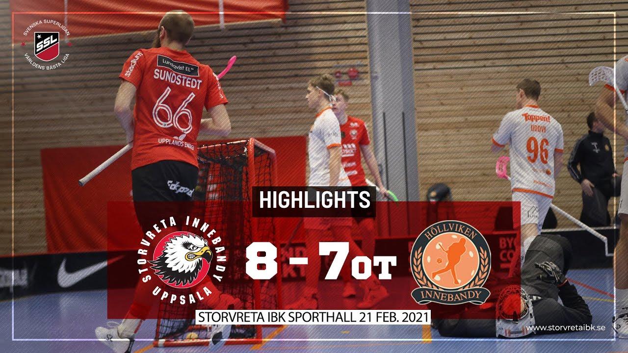 Download Highlights Storvreta IBK vs Höllvikens IBF 8-7 OT