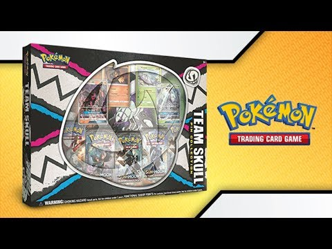 Opening 5x Pokémon TCG: Team Skull Pin Collection Boxes