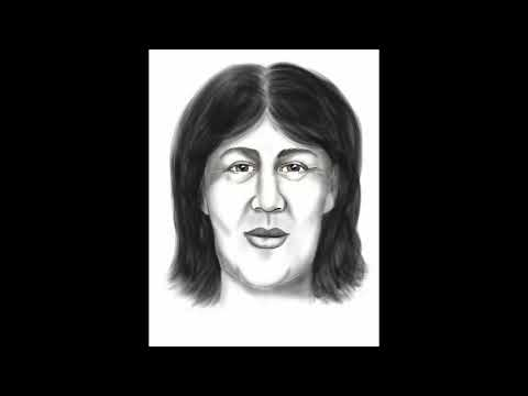Time-lapse: CCSO Forensic Artist Joyce Nagy Facial Re-Approximation