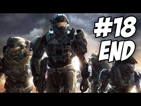 Halo Reach Walkthrough | The Pillar of Autumn / Lone Wolf | Part 18 - Ending (Xbox 360)