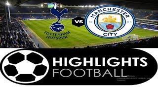 Manchester City Vs Tottenham // All Goals & Highlights // English Commentary //