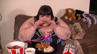 KFC Kentucky Fried Chicken Mukbang (Eating Show)
