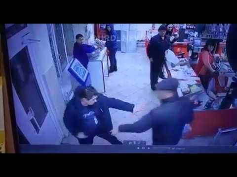 Ограбление в магазине в Алексине.
