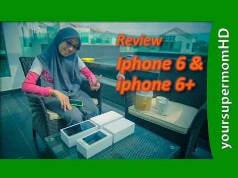 Review iPhone 6 & iPhone 6+ Apple Malaysia (double UnBoxing) - YourSupermomHD