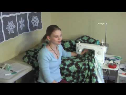 Quilting BIG Quilts on a Small Machine - YouTube : machine quilting a large quilt - Adamdwight.com