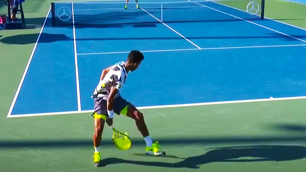 Felix Auger-Aliassime and Corentin Moutet in 'Battle of the Tweeners'! | US Open 2020