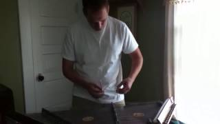 Amazing Grace on hammered dulcimer by Ted Yoder